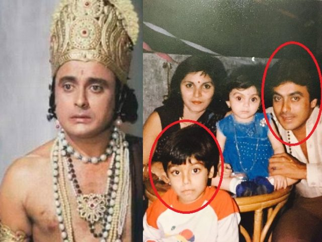 ramayan bharat actor son
