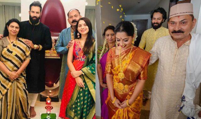marathi actress sonalee kulkarni father
