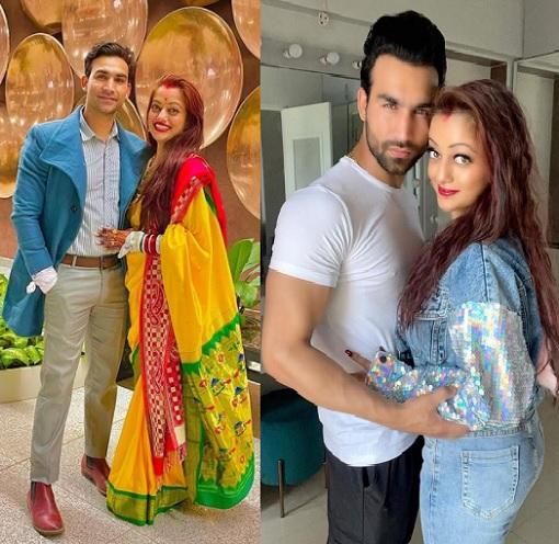manasi naik with husband