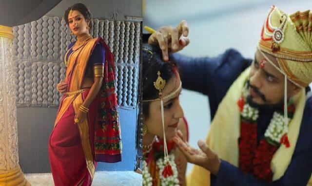 marathi actress mayuri wedding