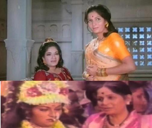 actress ranjana with mother