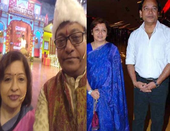 actor vijay kadam wife padmashri joshi