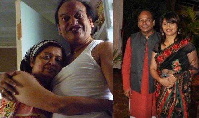 vijay kadam wife padmashri and mehuni pallavi