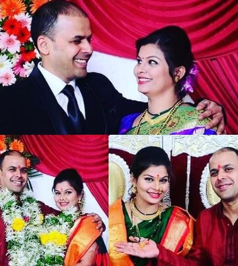 actress surabhi bhave wedding photo